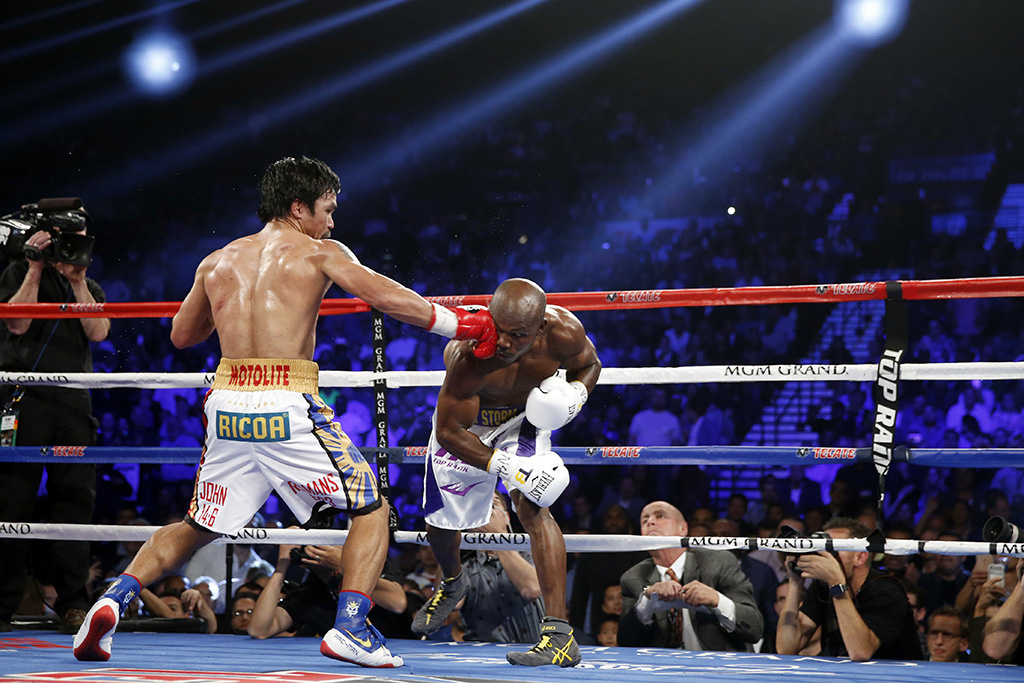 Did Manny Pacquiao Wear His Old Nike Shoes In His Fight